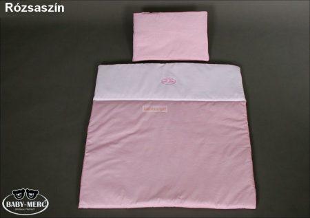 Ágynemű Babakocsiba 2 részes Rózsaszín