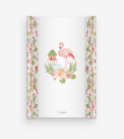 AlberoMio Puha Ékes 50x70 Pelenkázólap - Flamingo