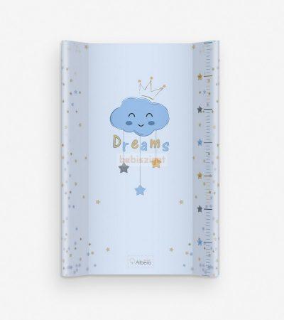 AlberoMio Merev Ékes Pelenkázólap 50x70cm - Blue Dreams Felhő