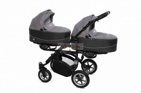 Baby Active Twinni Ikerbabakocsi Premium Silver
