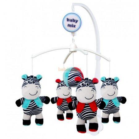 BabyMix Kiságyforgó Zebra