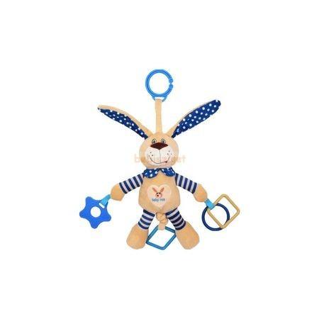 BabyMix Felakasztható Plüss Rezgő Nyuszi