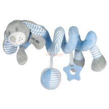 BabyMix Interaktív Plüss Spirál Kutya Kék