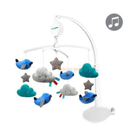 BabyOno Kiságyforgó Repülők csillagok és felhők