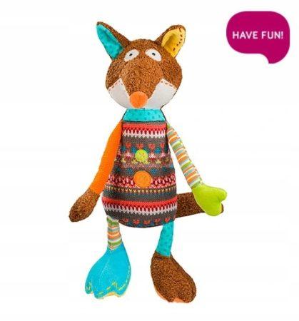 BabyOno FunnyFox Róka Plüss Csörgős Játék