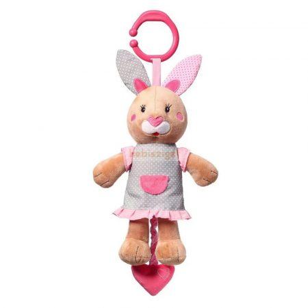 Baby Ono Felhúzható-Zenélő Plüss BunnyJulia a Nyuszilány