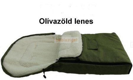 Bundazsák Minden Babakocsi típushoz, Babahordozóhoz,  Zöld Len