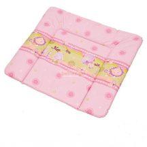 BerBer Puha Softi 80x70 cm Pelenkázólap - Dzsungel Rózsaszín