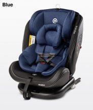 Caretero Mundo 0-36kg 360°-ban forgatható biztonsági gyermekülés - Blue