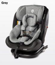 Caretero Mundo 0-36kg 360°-ban forgatható biztonsági gyermekülés - Grey