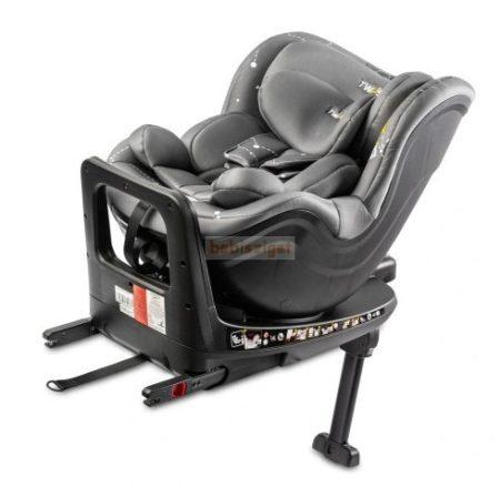Caretero Twisty 0-18kg ISOFIX 360°-ban forgatható Biztonsági Gyermekülés - Grey