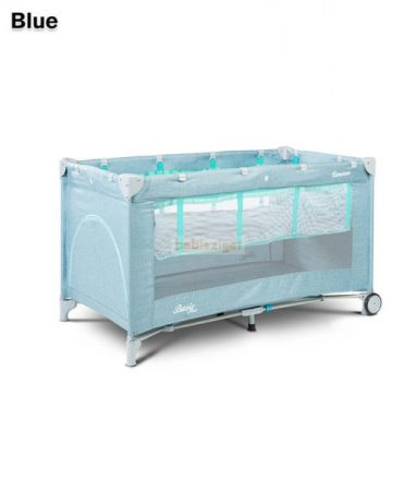 Caretero Basic Plus Blue 60x120 utazóágy