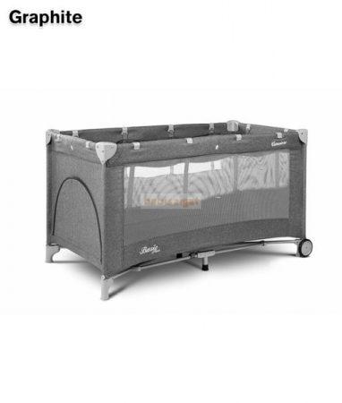 Caretero Basic Plus Grafit 60x120 utazóágy
