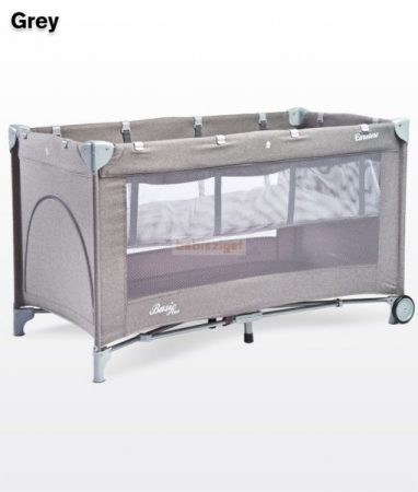 Caretero Basic Plus Grey 60x120 utazóágy