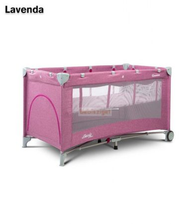 Caretero Basic Plus Lavenda 60x120 utazóágy