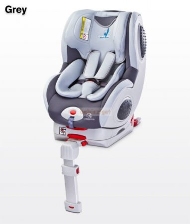 Caretero Champion ISOFIX 0-18 kg babaülés Grey