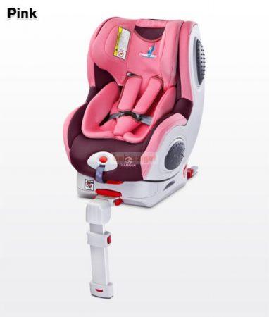 Caretero Champion ISOFIX 0-18 kg babaülés Pink