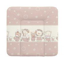 Ceba Baby Puha Softi 72x75 cm Pelenkázólap - Bézs Állatkás