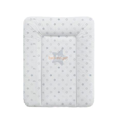 Ceba Baby Puha Softi 50x70 Pelenkázólap - Grey Stars