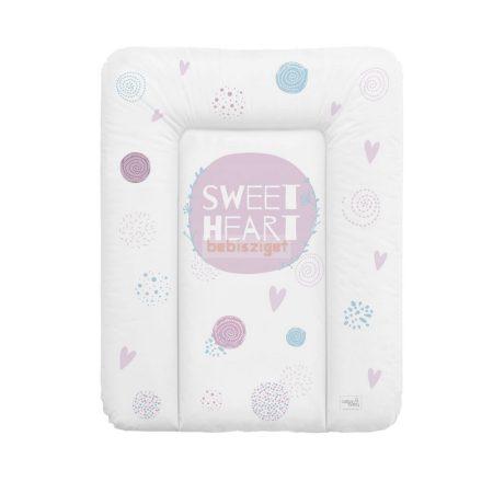 Ceba Baby Puha Softi 50x70 Pelenkázólap - Sweet Heart