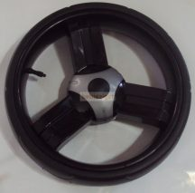 Tömör Babakocsi Kerék Drift Fekete Rövid fék