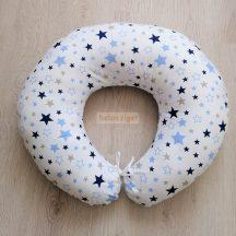 Baba-mama párna - Ergonómikus - Kék csillag