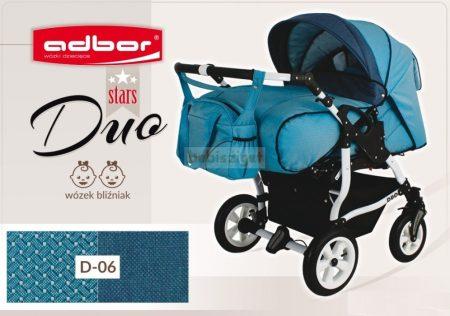 Adbor Duo Stars Ikerbabakocsi Szett D-06 adapterrel és 2db autós hordozóval