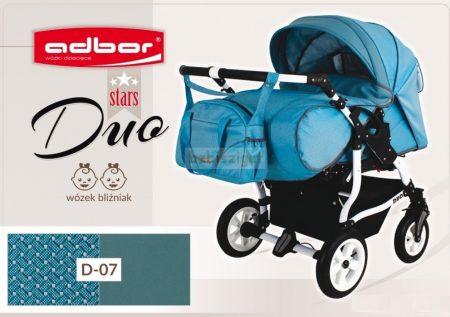 Adbor Duo Stars Ikerbabakocsi Szett D-07 adapterrel és 2db autós hordozóval