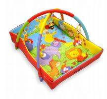 BabyMix Oldalfalas Játszószőnyeg  Safari
