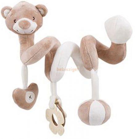 KikkaBoo Interaktív Plüss Spirál - Bear Boo