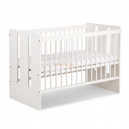 Klups Paula babaágy 60x120 Fehér