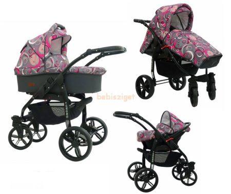 BabySportive Legro - Rózsaszín karika mintás