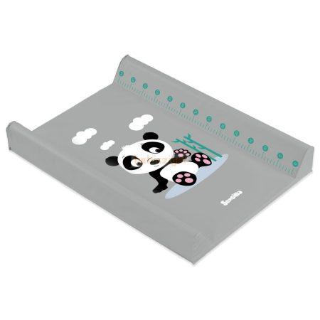 Sensillo Merev Ékes Pelenkázólap 50x70cm - Panda - Grey