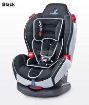Caretero Sport Turbo 9-25 kg babaülés Black