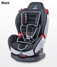 Caretero Sport Turbo 9-25 kg babaülés Black