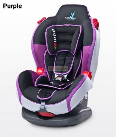 Caretero Sport Turbo 9-25 kg babaülés Purple