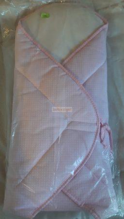 Kókuszpólya - Rózsaszín - fehér pöttyös