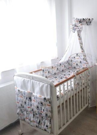 Szeko Stúdió - Hódocska 2 részes gyermekágynemű garitúra