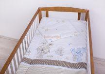 Szeko Stúdió - Trixi kék-bézs 2 részes gyermekágynemű garitúra