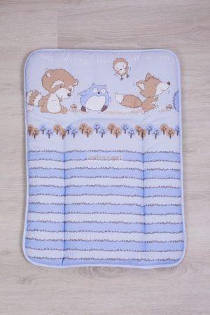 Mosható Puha 50x70 Pelenkázólap - Albi kék