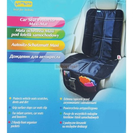TopGal Maxi Autós Ülésvédő - biztonsági gyermekülés alá