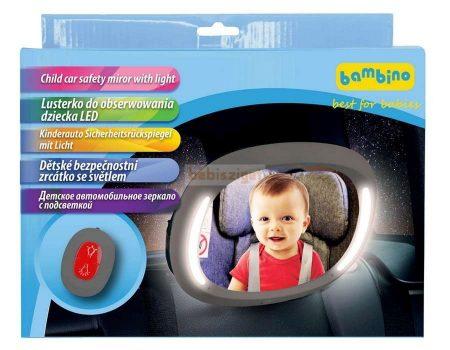 TopGal Biztonsági Tükör LED világítással Távirányítóval