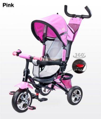 Toyz Timmy 360°-ban forgatható Tricikli - Pink