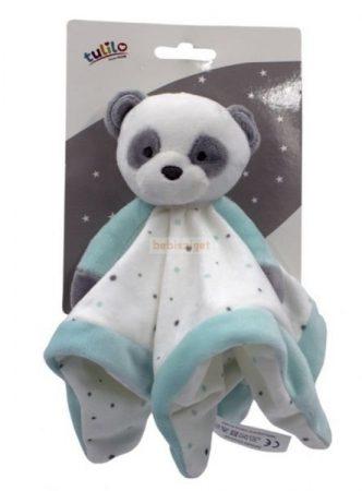Tulilo Plüss Szundikendő Panda Menta