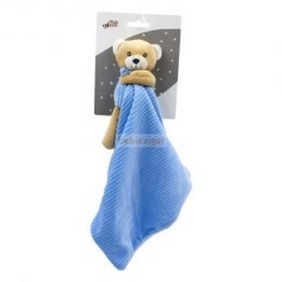 Tulilo Plüss Szundikendő kord Maci Kék