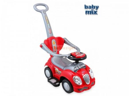 Baby Mix Cute Car 558 Piros Bébitaxi